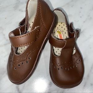Angel Mary Jane Shoes Brown Girls 3